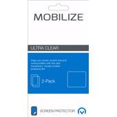 Mobilize Huawei P8 Lite (2017) Screenprotector Plastic Duo Pack