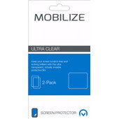 Mobilize HTC U Play Screenprotector Plastic Duo Pack
