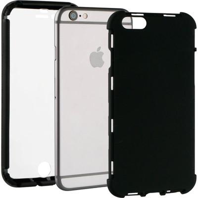 Image of BeHello Apple iPhone 6/6s Full 360 Protection Case Zwart