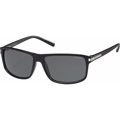 Polaroid 2019/S Shiny Black/ Grey Polarized Lens