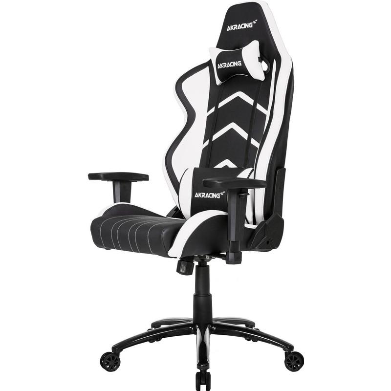 AK Racing AKRACING, Player Gaming Chair (Zwart-Wit) (AK-K6014-BW)