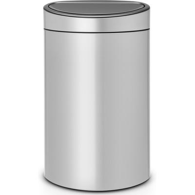 Image of Brabantia Afvalverzamelaar Touch Bin 40 Liter Metallic Grey
