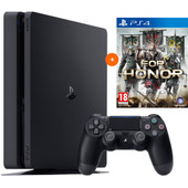 PS4 Slim 500GB + For Honor PS4