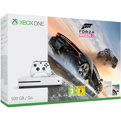 Image of Microsoft Xbox One S 500 GB Forza Horizon 3 Bundel
