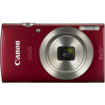 Image of Canon Ixus 185 compact camera Rood