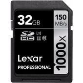 Lexar SDHC Pro 32GB 1000X UHS2