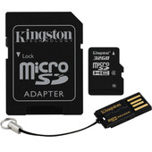 Kingston Micro SDHC 32GB Mobility Kit