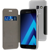 Muvit Folio Samsung Galaxy A3 (2017) Book Case Zwart