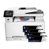 HP Color LaserJet Pro MFP M277dw + 4-Kleuren Pack Original