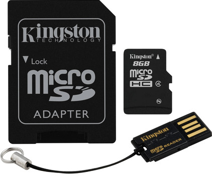 Kingston Micro SDHC 8GB Mobility Kit