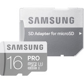 Samsung Pro microSDHC 16 GB Class 10 + SD Adapter