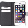 Mobiparts Premium Wallet TPU Apple iPhone 6/6S Book Case Zilver