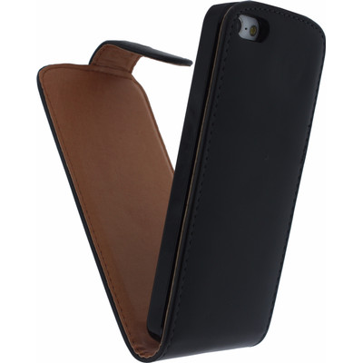 Xccess Leather Flip Case Apple iPhone 5 / 5S