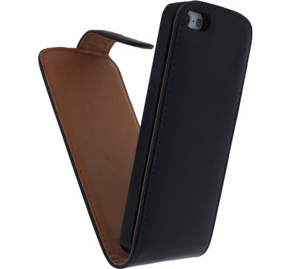 Xccess Leather Flip Case Apple iPhone 5/5S/SE