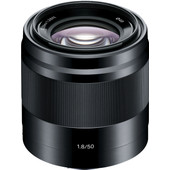 Sony E 50mm f/1.8 OSS Zwart