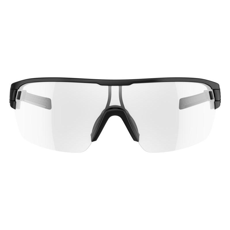 bd28a8c96bd359 Adidas Zonyk aero L Black Matt   Vario Clear Grey Lens