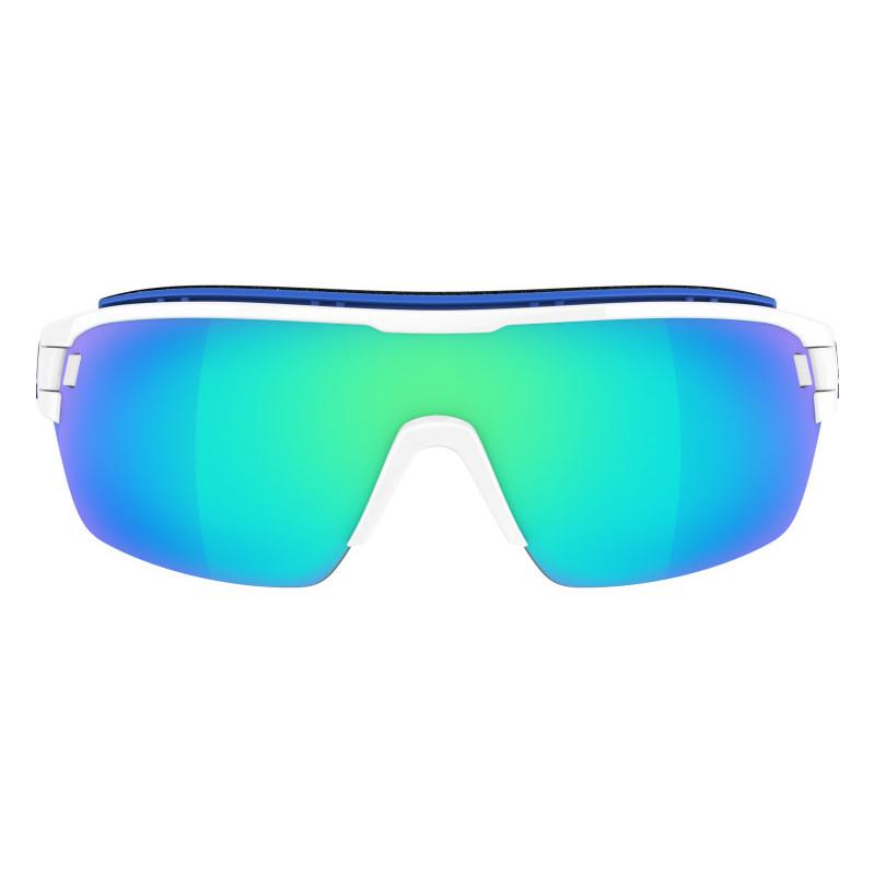 Adidas Zonyk Aero Pro L White Shiny-Blue Mirror Lens