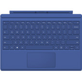 Microsoft Surface Pro 4 Type Cover Blauw AZERTY