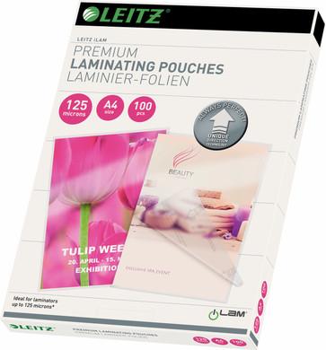 Leitz UDT iLAM Lamineerhoezen 125 micron A4 (100 Stuks)