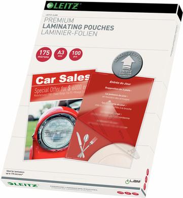 Leitz UDT iLAM Lamineerhoezen 175 micron A3 (100 stuks)