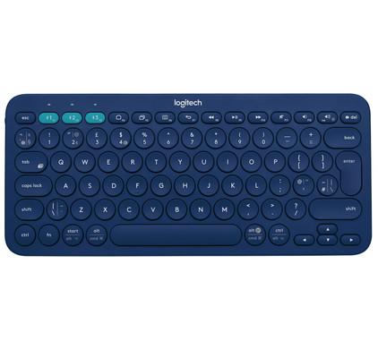 Logitech K380 Bluetooth Toetsenbord Blauw QWERTY