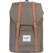 Herschel Retreat Canteen Crosshatch/Tan Leather