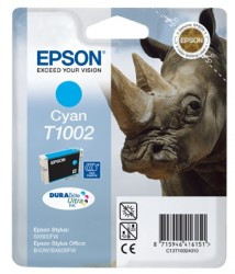 Epson T1002 Cyan Ink Cartridge (Blauw) C13T10024010