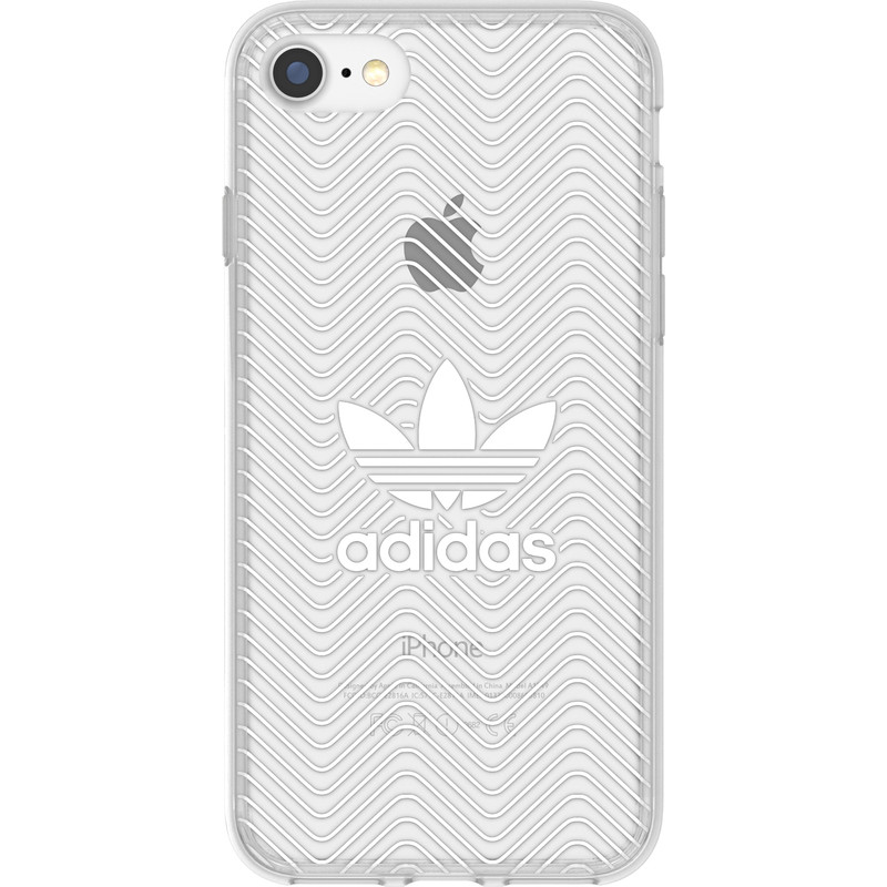 Adidas Originals Clear Apple iPhone 7 Back Cover Wit