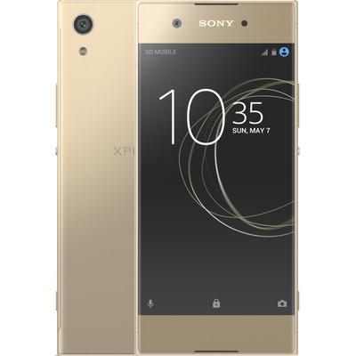 Sony Xperia XA1 Goud, Android 7.0 Nougat|5 inch HD scherm|32 GB opslagcapaciteit|2,3 GHz octa core processorExtra gegevens:Merk: SonyModel: Xperia XA1 GoudVoorraad: 1Contractduur:  jaarToestelprijs/artikelprijs: 279Levertijd : Voor 23.59 uur besteld, morgen in huis. Zelfs op zondag.