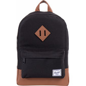 Herschel Heritage Kids Black/Tan Synthetic Leather