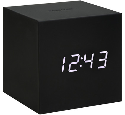 Gingko Gravity Click Clock Zwart