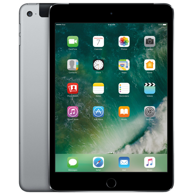 Apple iPad Mini 4 Wifi + 4G 128 GB Space Gray