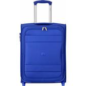 Delsey Indiscrete Soft 2 Wheel Slim Cabin Trolley 55cm Blue