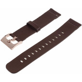 Just in Case Leren Polsband Universeel 20mm Bruin