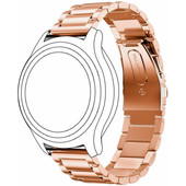 Just in Case RVS Polsband Universeel 22mm Rose Gold