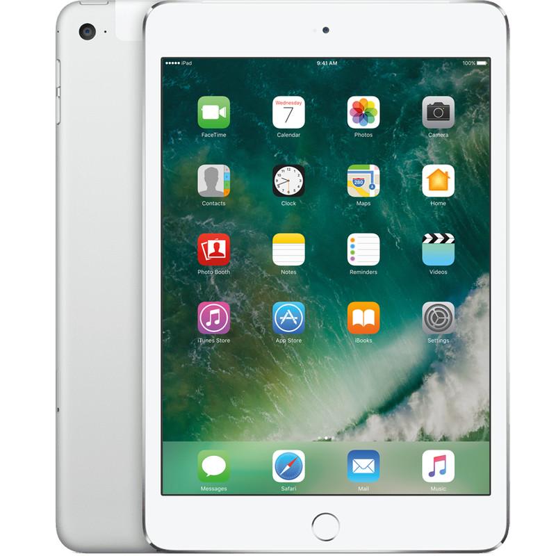 Apple iPad Mini 4 Wifi + 4G 128 GB Zilver
