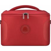 Delsey U-Lite Classic 2 Tote Beauty Case Red