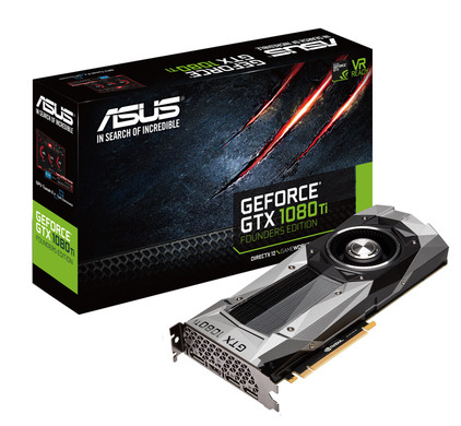 Asus GeForce GTX 1080Ti Founders Edition