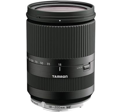 Tamron 18-200mm f/3.5-6.3 VC NEX Di III zwart
