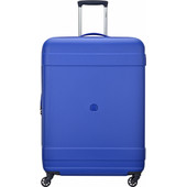 Delsey Indiscrete Hard 4 Wheel Trolley 76 cm Blue