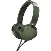 Sony MDR-XB550AP Groen