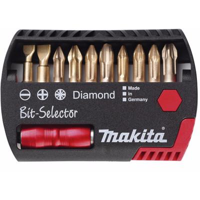 Makita 11-delige Bitset Diamant Pz/Ph P-53746