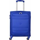 Delsey Indiscrete SLIM Soft 4 Wheel Trolley 55 cm Light Blue