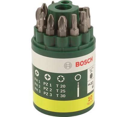 Bosch Bitset 10-delig Ph/Pz/T