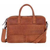 DSTRCT Wall Street Workingbag 17'' Cognac