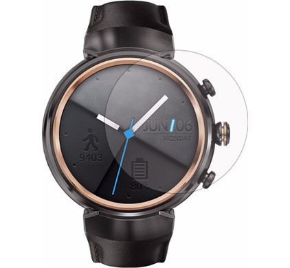 Just in Case Asus ZenWatch 3 Screenprotector Glas