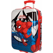 Spiderman Comic ABS 2 Wheel Trolley