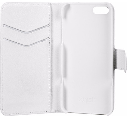 Xqisit Slim Wallet Case Apple iPhone 5/5S/SE White