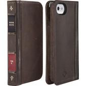 TwelveSouth BookBook Apple iPhone 5/5S/SE Brown
