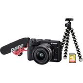 Vlogkit voor de beginner - Canon EOS M3